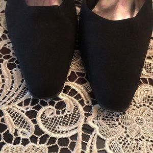 Calvin Klein Satin Sling Back Heels with Straps 10